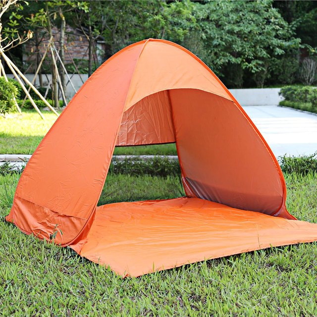 2 Person summer outdoor c&ing hiking beach fishing UV protection tent sun shade no building quick & 2 Person summer outdoor camping hiking beach fishing UV protection ...