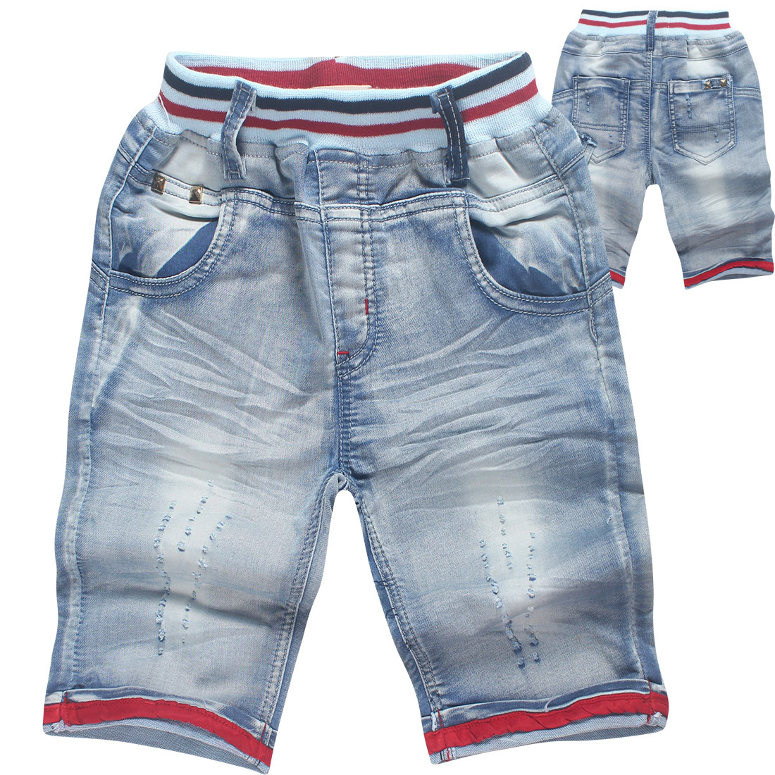 2018 Spring Children's Pants boys Girls ripped jeans Broken Hole Wash jeans for Children clothes fashion girls teens denim pants balplein brand men jeans vintage retro designer motor ripped jeans homme high street fashion denim destroyed biker jeans men