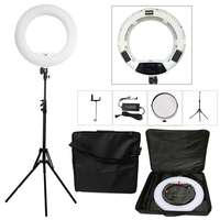 Yidoblo White FS 480II 5500K Bio Color Camera Photo Studio Phone Video 18 480 LED Ring
