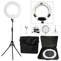 Yidoblo White FS 480II 5500K Bio color Camera Photo/Studio/Phone/Video 18'' 480 LED Ring Light LED Lamp+ 2M tripod +Soft bag Kit