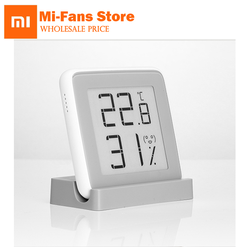 NewOriginal Xiaomi Mijia Thermometer Temperatur Luftfeuchtigkeit Sensor Lcd-bildschirm Digitale Feuchtemessgerät Für xiaomi Mi smart-home-kits