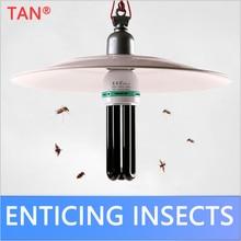 Hot sale AC 220V E27 5-40W With waterproof cover UV UV 365nm purple light dice lamp Xenon lamp black light все цены