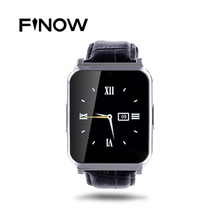 W90 Bluetooth Smart Uhr Männer Luxury Leather Geschäfts Armbanduhr Ritter Full View HD Bildschirm Smartwatch Für Android IOS Telefon