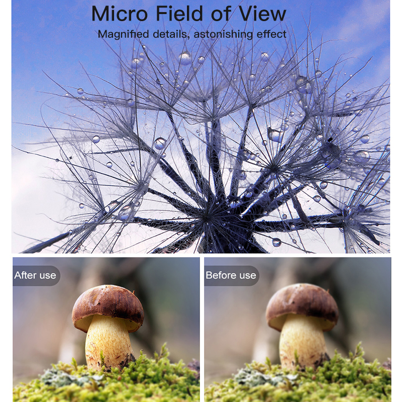 Baseus Mobile Phone Lens Wide Angle Fish eye Fisheye 15X Macro Camera Lens For iPhone Xs Max Xr X Samsung S10 S9 Huawei P30 Pro