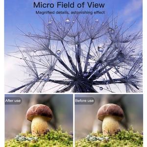 Image 5 - Baseus Mobile Phone Lens Wide Angle Fish eye Fisheye 15X Macro Camera Lens For iPhone Xs Max Xr X Samsung S10 S9 Huawei P30 Pro