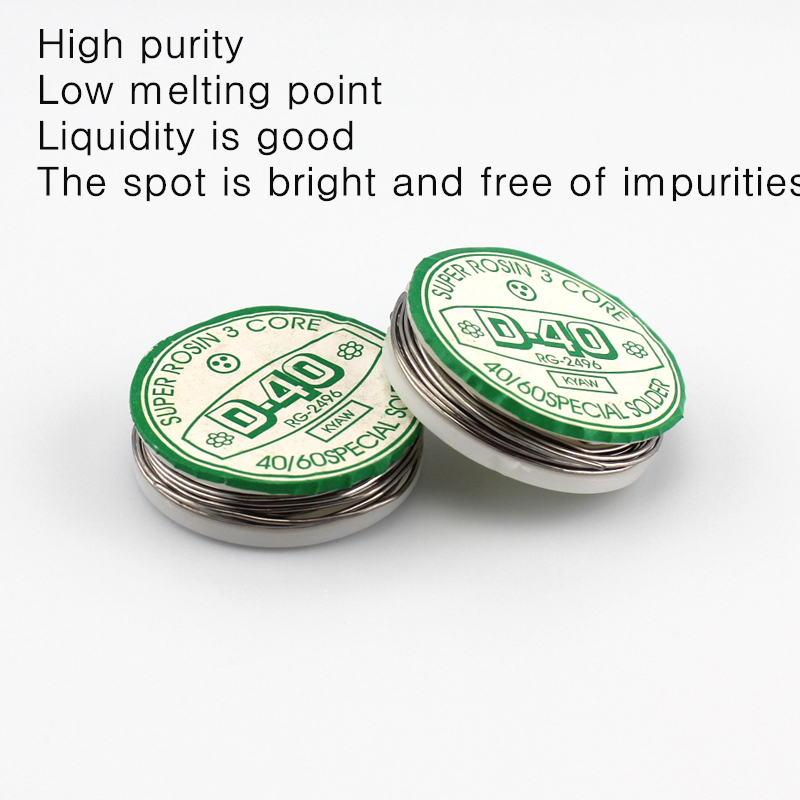 1PCS 1 meter D40 soldering tin,0.75mm Small solder wire,Circuit ...