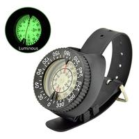 Wristwatch Design Waterproof Luminous Compass for Diving Water Sports Accessory