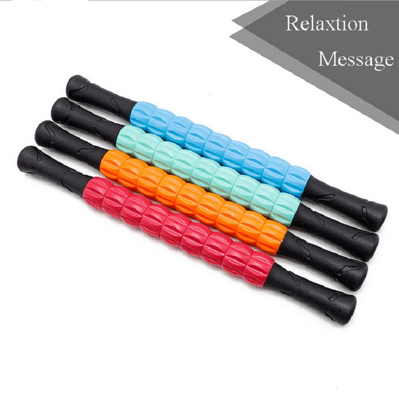 New Yoga Massage Roller Stick Leg Back Relaxion Foam Roller Muscle Therapy Relieve Physio Yoga Block Fitness Equipment
