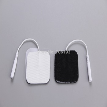 Free Shipping 50pcs/lot 4*4cm Tens Electrode Pads for Slimming Massager Digital Therapy Machine Massager фото