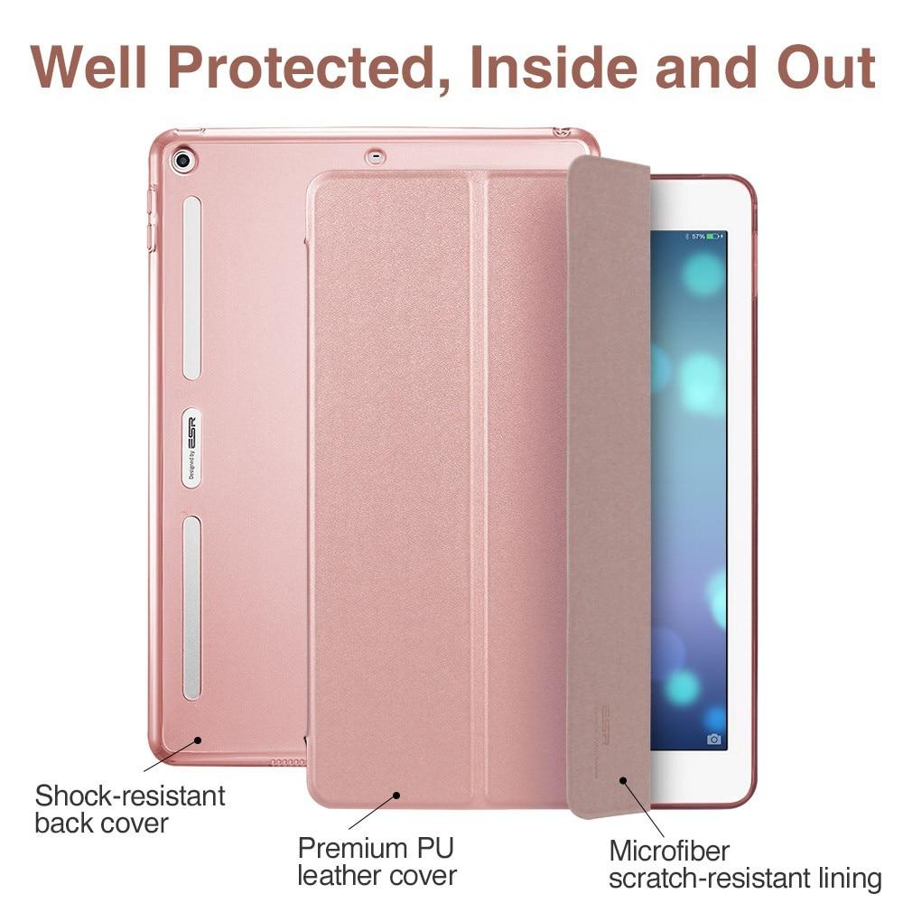 Kaitseümbris iPad 9,7 2017, ESR PU nahast esikaane + pehme TPU - Tahvelarvutite tarvikud - Foto 6