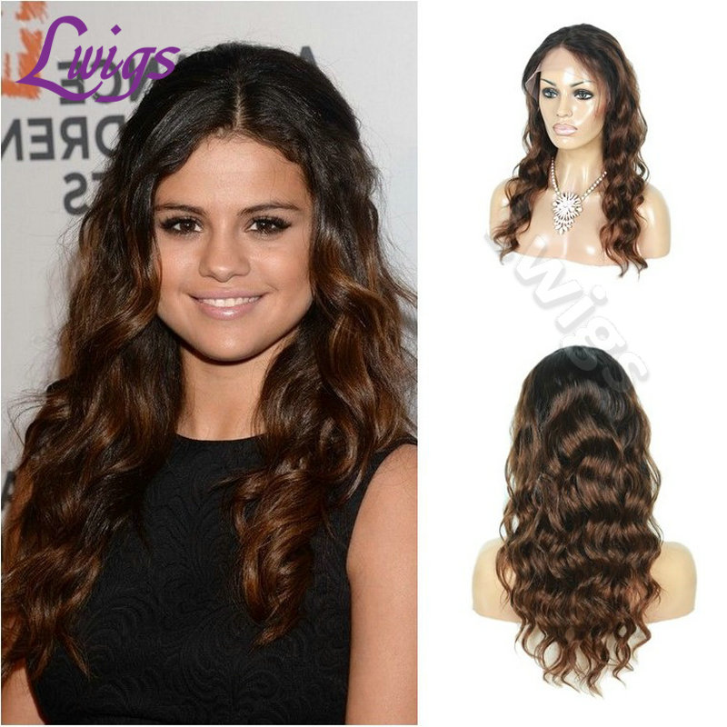 7A Ombre Full Lace Human Hair wigs with Baby Hair Brazilian Human Hair Ombre Lace Front Wigs Two Tone Glueless Lace Wigs On Sale