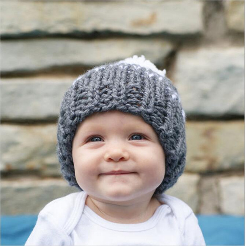 4482560ed49a ... costume photo photography prop outfits apr613; christmas infant baby  girls knit caps newborn kids crochet knitted hats 2017 babies autumn winter  wh ...