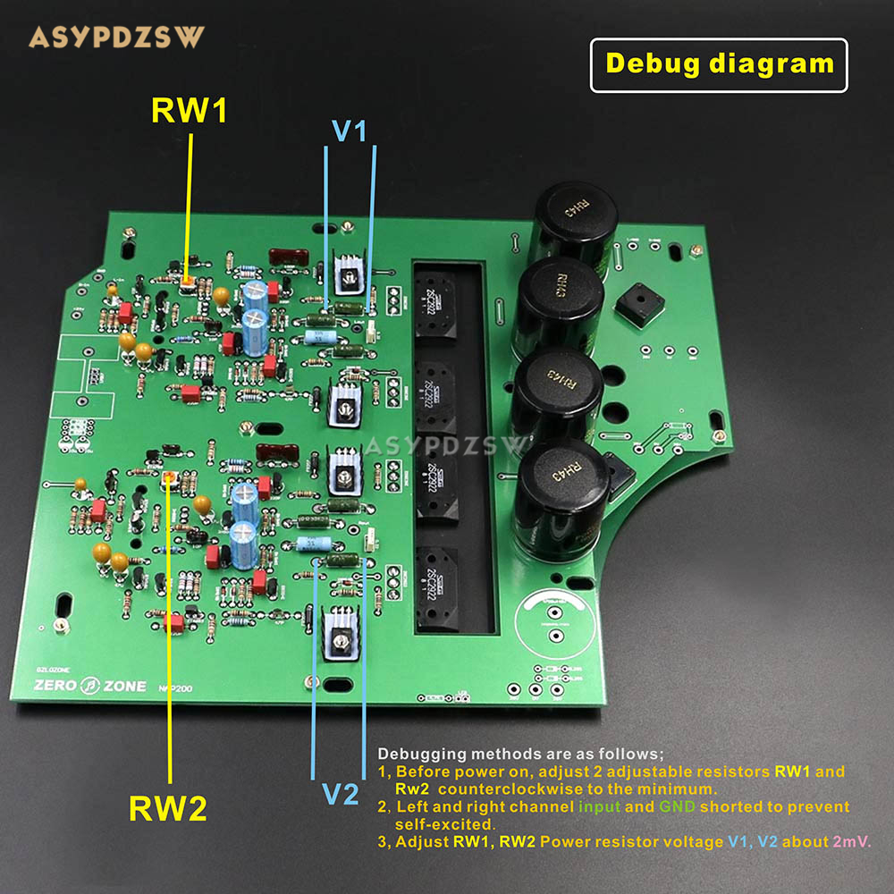 Stereo NAP200 leistungsverstärker basis auf UK NAIM Black Box Power ...
