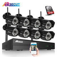 New List 8CH Plug And Play NVR Wifi CCTV System 1 3MP 960P HD Outdoor Indoor