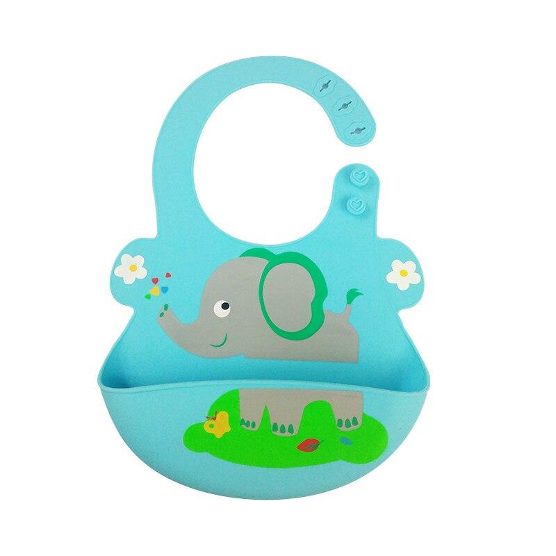 Silicone Baby Bibs Waterproof Bibs Bibs Newborn Feeding Baby Bibs Burp Cloths For Children Self Cute Cartoon Soft Feeding Care