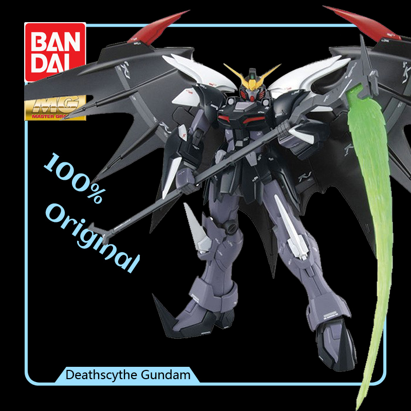 BANDAI Model MG 1/100 nowy mobilny sprawozdanie Gundam skrzydła i XXXG 01D2 Deathscythe Gundam efekty działania Model figurki modyfikacji w Figurki i postaci od Zabawki i hobby na  Grupa 1