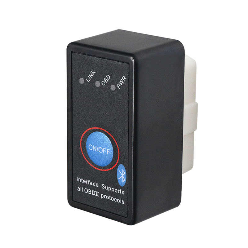 2019 Супер Мини ELM327 v2.1 переключатель Bluetooth OBD2 CAN-BUS диагностический инструмент ELM 327 2,1 Автомобильный сканер для Android OBDII протоколы