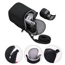 Камера сумка Фото чехол для sony A6300 A5100 A5000 A6000 NEX 5 7 NEX6 NEX-5R NEX-F3 H400 HX90 HX60 HX50 RX100 V II III IV