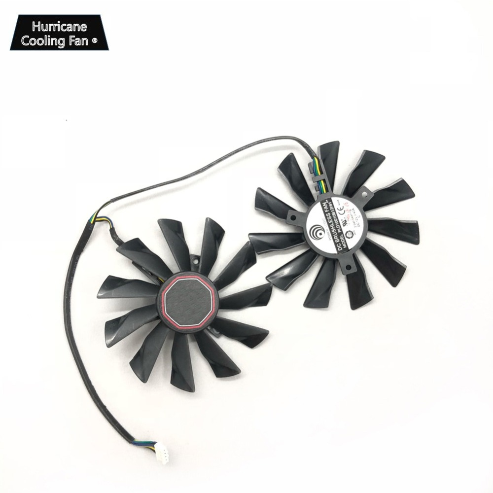 Купить с кэшбэком New PLD10010S12HH 95mm 4Pin Graphics Card Cooling Fan for MSI GTX 780Ti/780/760/750Ti R9 290X/290/280X/280/270X GAMING Cooler
