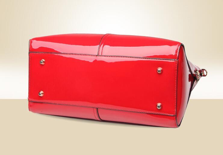1b8713750ad3 Luxury Handbags Top-Handle Bags for Women 2017 Designer inspired Handbag  Ladies Patent Leather Tote Bag Female Bag Red Pink B045