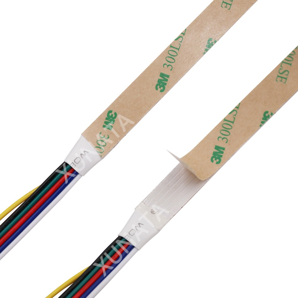 5 Colors In 1 Chip RGB+CCT LED Strip Lamp 5M DC12V 24V 5050 SMD 60leds/m RGBW RGBWW Flexible Tape Light Home Decor Lighting