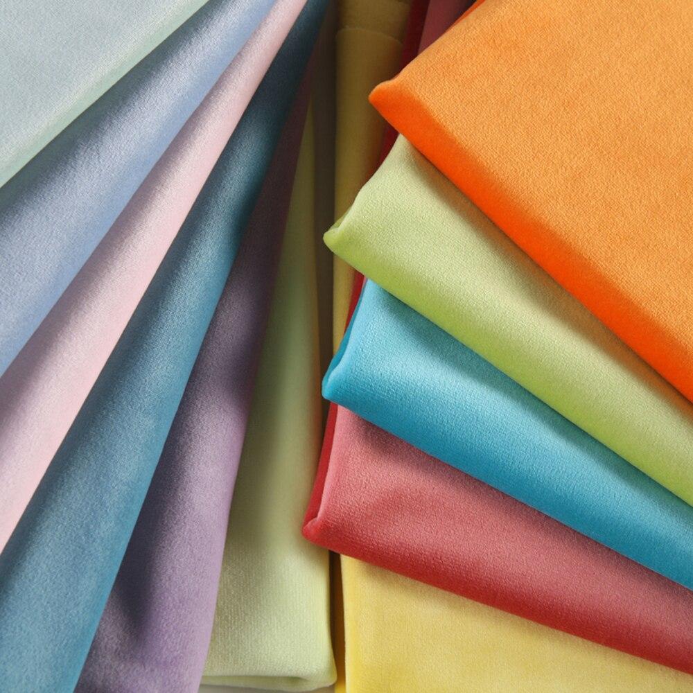 ESSIE HOME 280cm Bumbac Catifea Stofa Velvet Fabric Pleuche Fabric - Arte, meșteșuguri și cusut - Fotografie 3