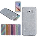 2016 Hot selling New Luxury Bling Glitter Hard Back Film Case Cover for Samsung Galaxy S6 G9200 nice