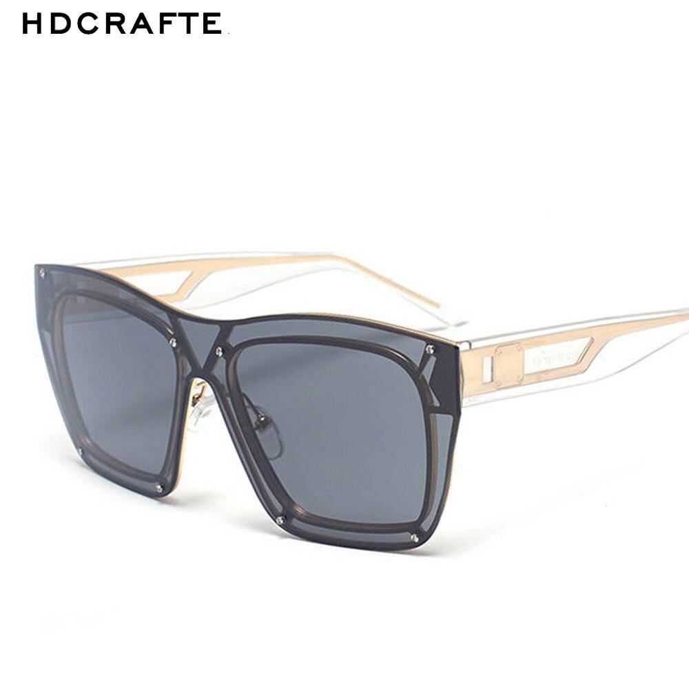 f7f113f6cc4ff Nuevo 2018 HDCRAFTER gafas de sol hombres UV400 gafas de sol mujer hombre  marca diseñador espejo gafas de sol originales Oculos de sol masculino