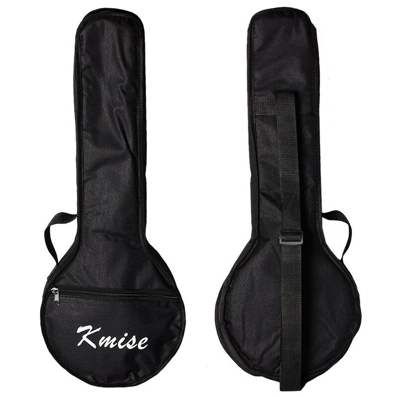 Kmise banjo Ukuleles uke bolsa de concierto 23 pulgadas tamaño negro
