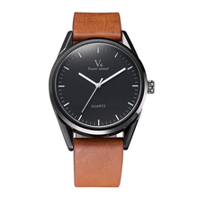 Men Luxury Brand Sport Watches High Quality Military Leather Watches Fashion Business Clock relogio masculino saat