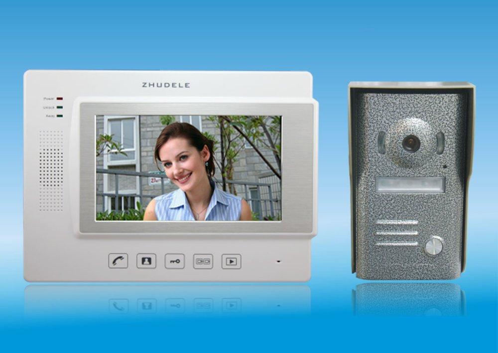 Türsprechstelle Xinsilu Intercom System Direkt Drücken Sie Die Taste Audio Tür Telefon Für 14 Wohnungen 4-wired Audio Türsprechanlage Mit Hand Free Indoor Einheiten Audio Intercom