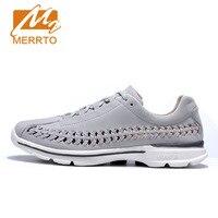 MERRTO Hot Style Men Running Shoes Lace Up Breathable Comfortable Sneakers Outdoor Walking Footwear Men Krasovki