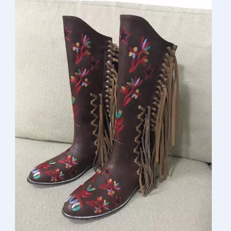 Compare Prices on Fringe Cowboy Boots- Online Shopping/Buy Low ...