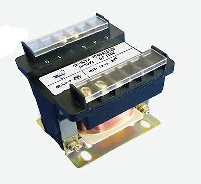 Input AC 380V Output AC 220V Monophase Phase Volt Control Transformer 50VA Power new e000 22070 isolation transformer three phase isolation transformer pcb max 500v
