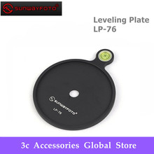 Sunwayfoto Leveling Plate LP 76 Add on Offset Bubble Level Plate  76mm diameter for Tripod  Headball