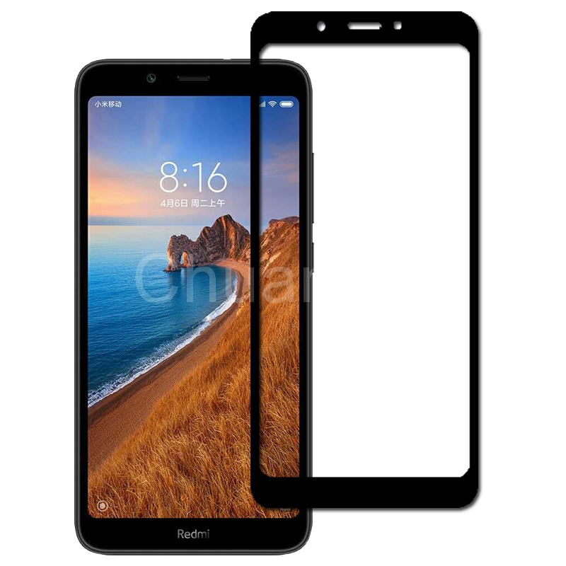 Image 4 - 25 Pcs/Lot Full Coverage Screen Protectors For Xiaomi Redmi 7A Scratch Proof Protective Film Tempered Glass For Xiaomi Redmi 7A-in Phone Screen Protectors from Cellphones & Telecommunications