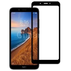 Image 4 - 25 יח\חבילה מלא כיסוי מסך מגיני Xiaomi Redmi 7A שריטה הוכחת מגן קולנוע מזג זכוכית עבור Xiaomi Redmi 7A