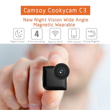 2017 New Designs C3 Mini WIFI Camera IP Control Night Vision Video Camera for Gift HD 720P MP4 Video Format Camcorder
