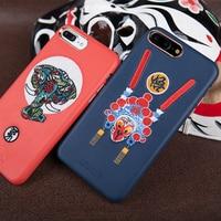 Nillkin Brocade Chiński styl etui do iphone 7/7 plus pokrywa PU Skóra Vintage back cover dla iphone 7 plus case dla 4.7 i 5.5