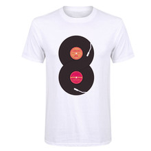 Double infinite Vinyl Records men's t-shirt / 10 Colors