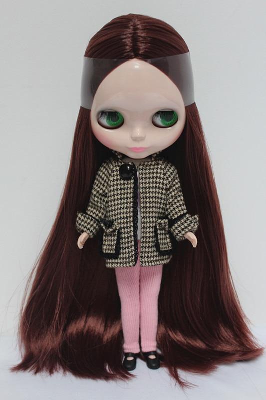 Free Shipping big discount RBL 68DIY Nude Blyth doll birthday gift for girl 4 colour big