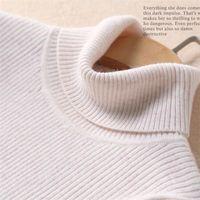 High Collar Women S Sweaters Slim Jersey Sweater Wild Primer Sweater Women