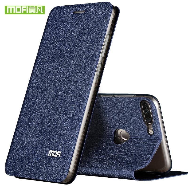 For Huawei honor 9 lite case flip cover silicon luxury leather original mofi for Huawei honor 9 lite case tpu back metal foundas