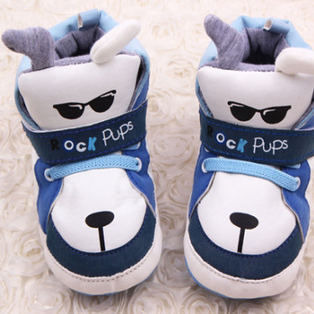 Winter baby boy eye series first walk shoes toddler shoes skin PU material baby wild shoes wear for kids xz24 image