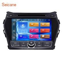 """Seicane 8-Core 1024*600 Оперативная память 4 ГБ Android 8,0 8 """"gps Bluetooth 2Din Автомобильный DVD Радио для hyundai IX45 с Встроенная память 32 ГБ WI-FI поддержка SD"""