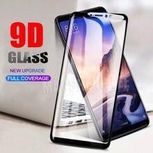 新しい 9D 強化ガラスシャオ mi mi 最大 3 2 フルカバースクリーンプロテクター強化ガラスシャオ mi mi 最大 2 ガラス保護フィルム
