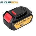 Para ferramentas de poder floureon dewalt 18 v 4000 mah da bateria baterias de substituição sem fio para broca dcb181 dcb182 dcd780 dcd785 dcd795