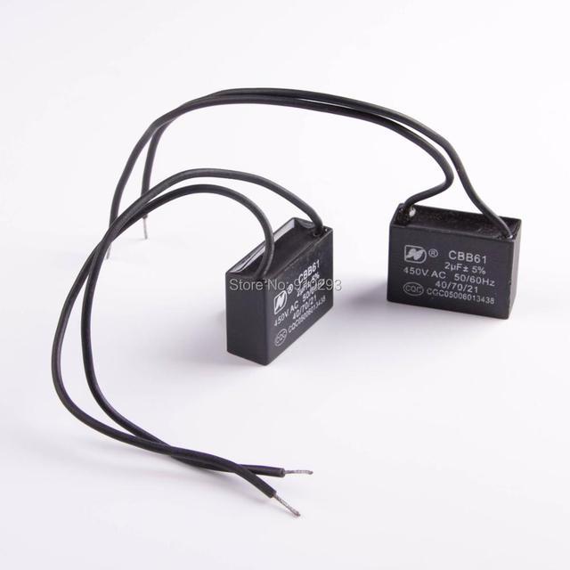 Charmant Cbb61 Lüfter Kondensator 3 Kabel 1 5 2 5 Zeitgenössisch ...