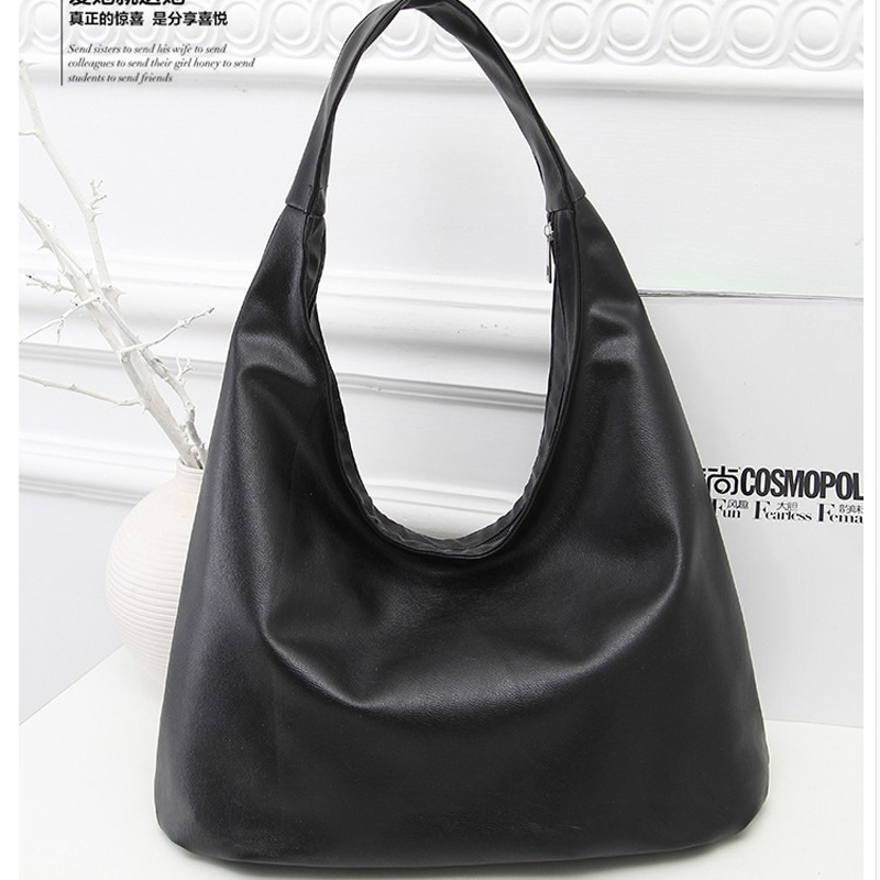a0483d5dcfed PU Leather Hobo Bags for Women Shoulder Bag Designer Handbags High Quality Female  Tote Bag Luxury Top-handle Bags