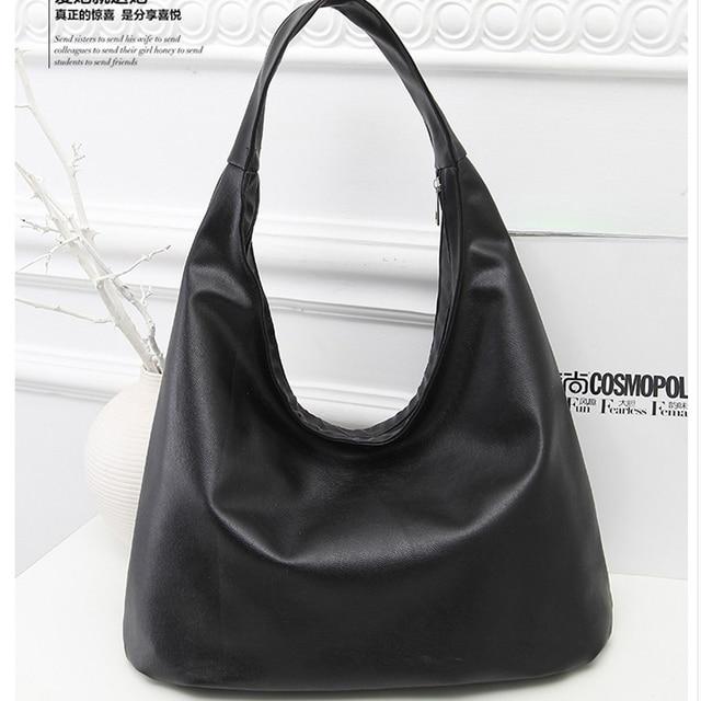Pu Leather Hobo Bags For Women Shoulder Bag Designer Handbags High Quality Female Tote Luxury